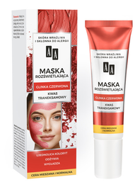 AA CARBON & CLAY ILLUMINATING FACE MASK WITH RED CLAY