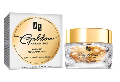 AA GOLDEN CERAMIDES CAPSULES OF YOUTH FLEXIBILITY & MOISTURIZING 30 capsules