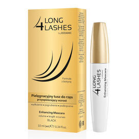 AA OCEANIC 4 LONG LASHES  ENHANCING MASCARA STIMULATING EYELASH GROWTH BLACK