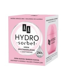 AA OCEANIC HYDRO SORBET MULTIHYDRATION + NUTRITION 24H FOR DRY SKIN