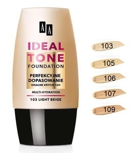 AA OCEANIC IDEAL TONE FOUNDATION PERFECT MATCH 16H IDEAL COVER & MULTI-HYDRATION