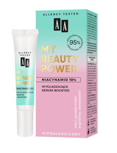 AA OCEANIC MY BEAUTY POWER SMOOTHING FACE SERUM BOOSTER HYPOALLERGENIC