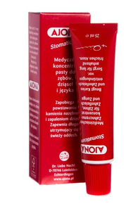 AJONA STOMATICUM MEDICAL CONCENTRATE OF TOOTHPASTE ALSO FOR GUM & TONGUE 25ml
