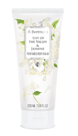 ALLVERNE ALLVERNUM LILY OF THE VALLEY & JASMINE PERFUMED BODY BALM LOTION 200ml