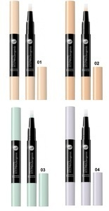 BELL HYPOALLERGENIC LIGHTENING & CORRECTING FACE CONCEALER MOISTURISING & SMOOTHING VARIOUS SHADES