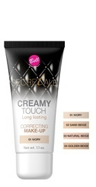BELL SECRETALE CREAMY TOUCH CORRECTING MAKE-UP FOUNDATION LONG LASTING