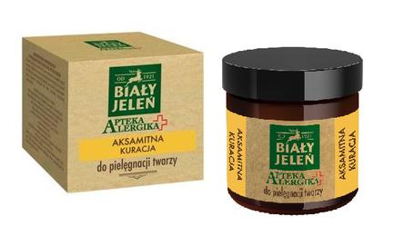 BIALY JELEN - WHITE DEER ALLERGY PHARMACY VELVET TREATMENT FACE CREAM
