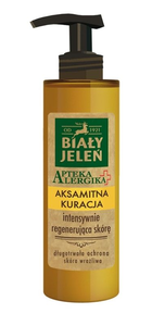 BIALY JELEN - WHITE DEER ALLERGY PHARMACY VELVET TREATMENT LOTION FOR BODY INTENSIVE REGENERATION
