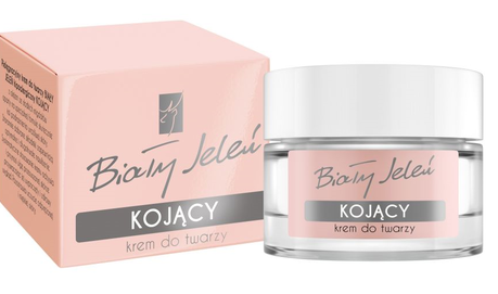 BIALY JELEN - WHITE DEER DAILY CARE FACE CREAM CALMING, SOOTHING & ANTI-ALLERGIC PINK BOX
