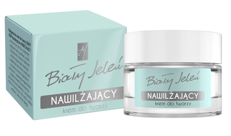 BIALY JELEN - WHITE DEER DAILY CARE FACE CREAM MOISTURIZING & ANTI-ALLERGIC BLUE BOX