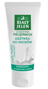 BIALY JELEN - WHITE DEER DAILY CARE MOISTURIZING HAIR CONDITIONER ATOPIC GOAT`S MILK