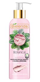 BIELENDA BOTANICAL CLAYS FACE WASHING PASTE WITH PINK CLAY CLEANING & REGENERATION