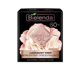 BIELENDA CAMELLIA OIL LUXURY FACE CREAM  CONCENTRATE REBUILDING 60+ DAY NIGHT