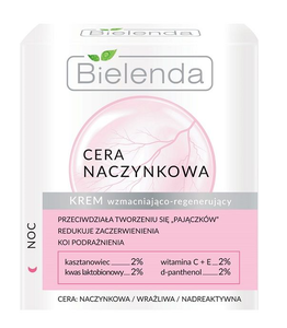 BIELENDA CAPILLARY REGENERATING STRENGTHENING FACE CREAM NIGHT