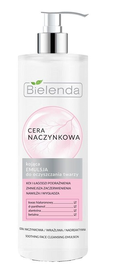 BIELENDA CAPILLARY SKIN SOOTHING FACE SKIN CLEANSING EMULSION MAKE-UP REMOVAL