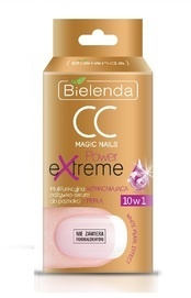 BIELENDA CC MAGIC NAILS POWER EXTREME MULTIFUNCTIONAL STRENGHTENING NAIL SERUM CONDITIONER WITH PEARL 10IN1