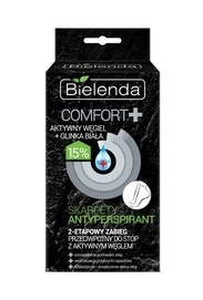 BIELENDA COMFORT+ SOCKS ANTIPERPIRANT 2-FASE TREATMENT FOR FEET FRESH & DETOX