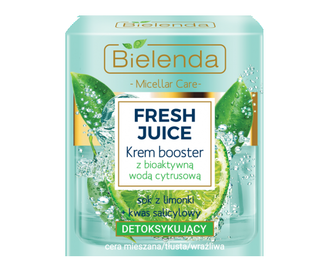 BIELENDA FRESH JUICE FACE CREAM BOOSTER DETOX LIME