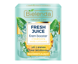 BIELENDA FRESH JUICE FACE CREAM BOOSTER RADIANCE PINEAPPLE