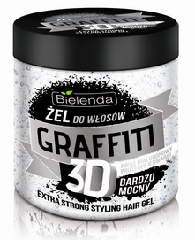 BIELENDA GRAFFITI 3D VERY STRONG STYLIG HAIR GEL