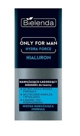 BIELENDA ONLY FOR MAN HYDRA FORCE HIALURON AQUAGEL MOISTURIZES SOOTHES FACE GEL CREAM FOR MEN