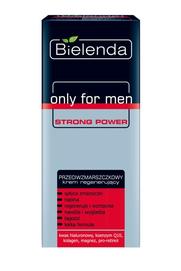 BIELENDA ONLY FOR MEN STRONG POWER ANTI-WRINKLES REGENERATING FACE CREAM