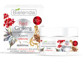 BIELENDA RED GINSENG ANTI-WRINKLES NOURISHING FACE CREAM DAY NIGHT 70+
