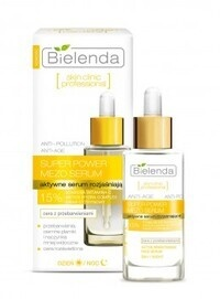 BIELENDA SUPER POWER MEZO ACTIVE BRIGHTENING FACE SERUM WITH VITAMIN C