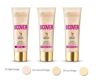 BIELENDA TOTAL LOOK MAKE-UP COVER FOUNDATION FLUID NUDE COVER
