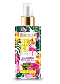 BIELENDA TROPIC VIBES REGENERATION AND REFRESH BODY MIST WITH ORANGE OIL AND ROSE WATER