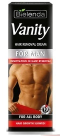BIELENDA VANITY HAIR REMOVAL CREAM FOR ALL BODY FOR MEN  10 minutes