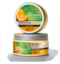 BIELENDA VEGAN FIRENDLY ORANGE BODY BUTTER WITH NATURAL VIT C BODY FIRMING 250ml