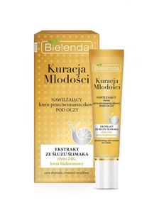 BIELENDA YOUTH TREATMENT ANTIWRINKLE MOISTURIZING EYE CREAM GOLD & SNAIL