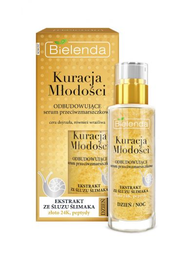 BIELENDA YOUTH TREATMENT ANTIWRINKLE REBUILDING FACE SERUM DAY NIGHT