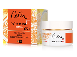 CELIA VITAMIN C + RETINOL FIRMING ANTI-WRINKLE FACE CREAM 65+ DAY NIGHT