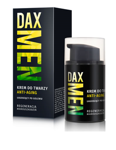DAX COSMETICS MEN ANTI AGING FACE CREAM ANTI WRINKLE REGENERATION