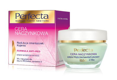DAX COSMETICS PERFECTA CAPILLARY SKIN  REDNESS & WRINKLE REDUCTION FACE CALMING CREAM DAY NIGHT