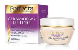 DAX COSMETICS PERFECTA CERAMIDE LIFTING FACE CREAM SMOOTHING DAY NIGHT 50+