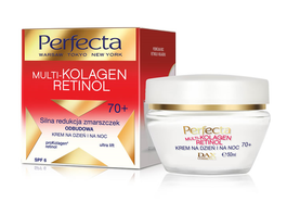 DAX COSMETICS PERFECTA MULTI-COLLAGEN RETINOL STRONG FACE CREAM ANTIWRINKLE & REBUILDING 70+ DAY NIGHT