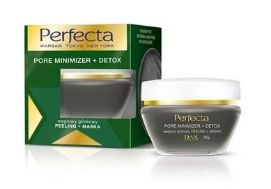 DAX COSMETICS PERFECTA PORE MINIMIZER + DETOX COAL CLAY FACE SCRUB MASK