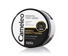 DELIA CAMELEO ANTI DAMAGE KERATIN HAIR MASK BB FOR DEMAGED HAIR RECONSTRUCTION