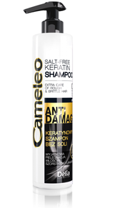 DELIA CAMELEO ANTI DEMAGE KERATIN SHAMPOO RECONSTRUCTION OF EXTREMALY DAMAGED HAIR SALT FREE