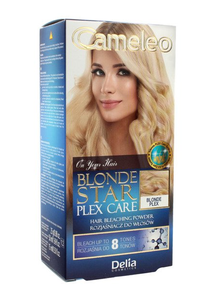 DELIA CAMELEO BLONDE STAR PLEX CARE HAIR BLEACHED POWDER UP TO 8 TONE