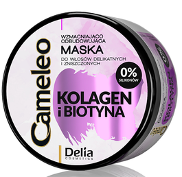DELIA CAMELEO COLLAGEN & BIOTIN HAIR MASK REGENERATION & MAXIMUM VOLUME