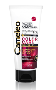 DELIA CAMELEO KERATIN CONDITIONER EXPRESS COLOURED & BLEACHED HAIR 0% SALT