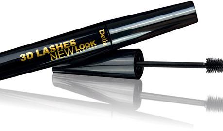 DELIA COSMETICS 3D LASHES NEW LOOK MASCARA BLACK