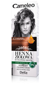 DELIA COSMETICS CAMELEO HERBAL HAIR COLORING CREAM NATURAL HENNA