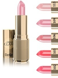 DELIA COSMETICS CREAMY GLAM CREAMY LIPSTICK BEAUTIFUL COLOURS