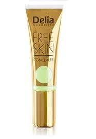 DELIA COSMETICS FREE SKIN GREEN FACE CONCEALER