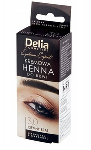 DELIA COSMETICS HENNA CREAM COLOUR FOR EYEBROWS 15 applications